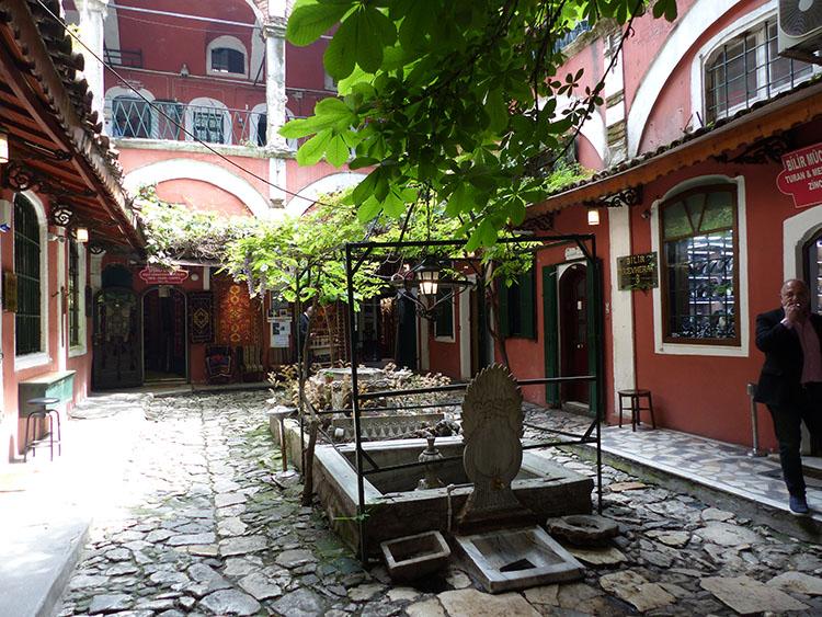 zincirli han au Grand Bazar d'Istanbul Turquie