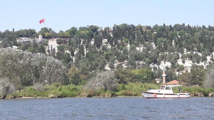 corne d'or devant la colline pierre loti à istanbul turquie