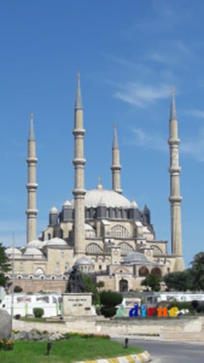 mosquee selimiye de selim deux a edirne en turquie