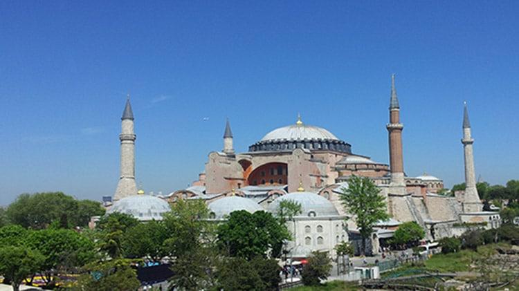 Musée Sainte-Sophie à Sultanahmet Istanbul Turquie
