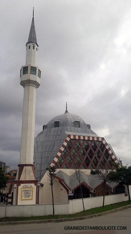 mosquée Mustafa Kanat dite Dark Vador à Istanbul Turquie