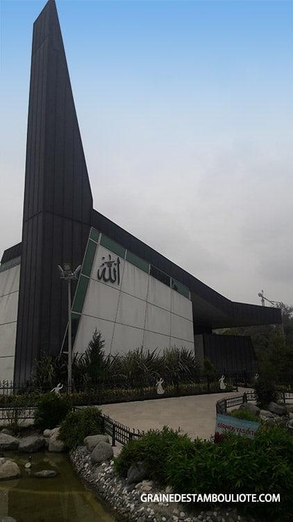 mosquée moderne de derviches tourneurs Semazen Istanbul Turquie