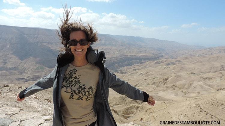 Route des Rois en Jordanie, point de vue sur le Wadi Mujib