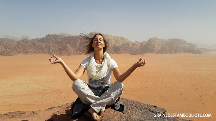 désert du wadi rum jordanie