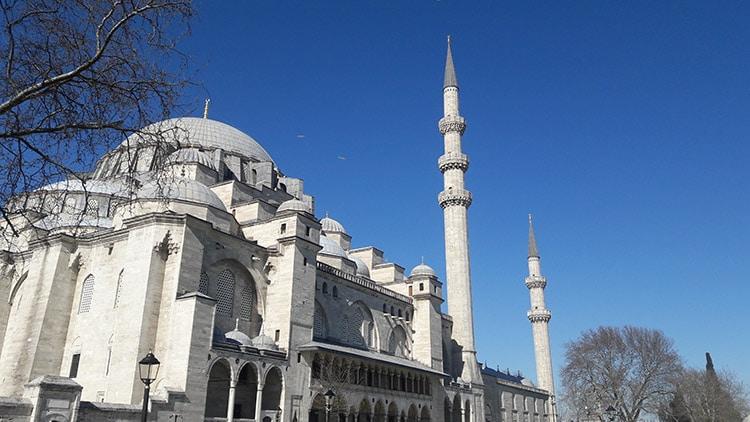 mosquée Suleymaniye de soliman le magnifique à Istanbul Turquie