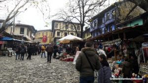 village traditionnel ottoman de cumalikizik près de bursa en turquie