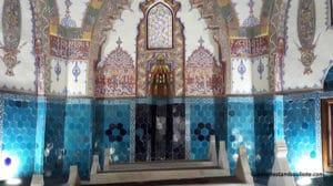 mausolée du Prince Cem Sultan à Bursa dans le complexe de la Muradiye ou Murat II