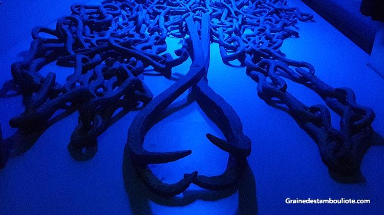 chaîne de la corne d'or, fermant l'accès au port naturel des byzantins, entre la pointe du sérail et la colonie génoise de Galata