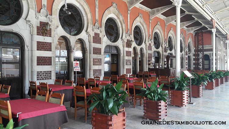 gare sirkeci, terminus de l'Orient-Express