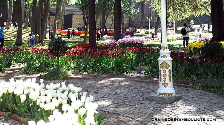 parc Gülhane à Istanbul - festival de la tulipe 2016