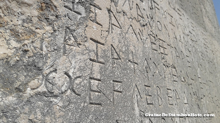 xanthos, site antique lycien classé au patrimoine mondial de l'unesco