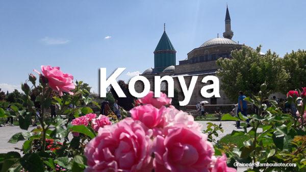 visiter konya en un week-end. tout ce qu'il y a à voir à Konya, sur les traces de Celaleddin Rumi, Mevlana, fondateur des derviches tourneurs