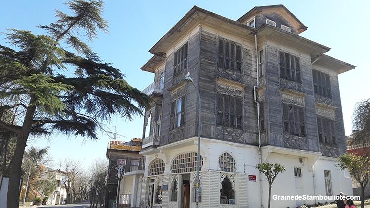 Les îles aux Princes à Istanbul, île de Heybeliada, belles demeures en bois