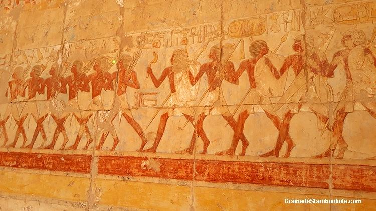 temple des millions d'années de Hatchepsout, Louxor, Thèbes, Egypte