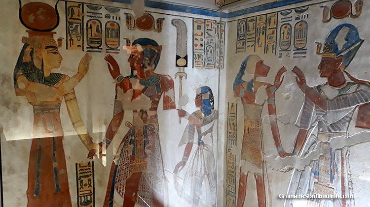vallée des Reines de Louxor Thèbes, Egypte, tombeau du prince  Amon her khepeshef