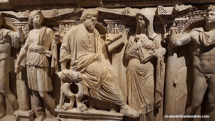 Sarcophage de Sidamara, musée archéologique d'Istanbul