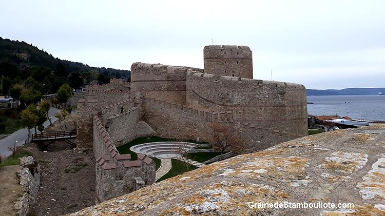Forteresse de Kilitabahir ou château de Kilitbahir sur la Péninsule de Gallipoli face à Canakkale
