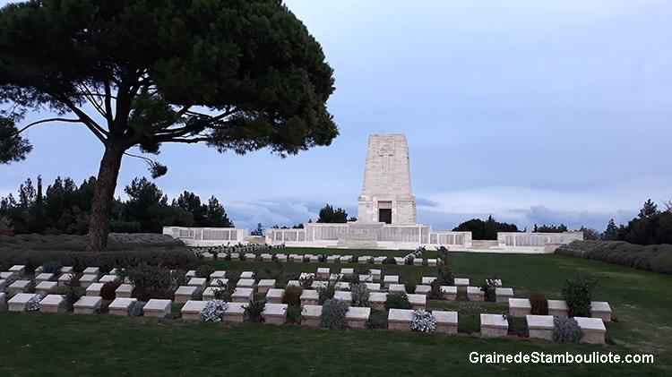 Lone Pine, cimetière et mémorial, ANZAC, Australie et Nouvelle Zélande, Bataille des Dardanelles, Gallipoli, Canakkale, première guerre Mondiale