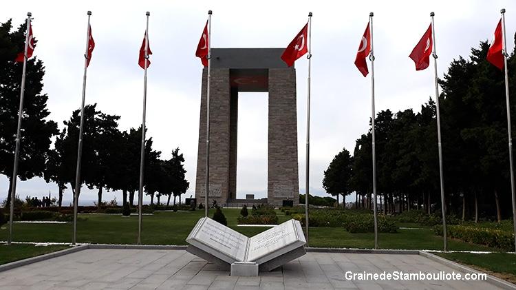 Mémorial turc de Canakkale, Bataille des Dardanelles sur la Péninsule de Gallipoli