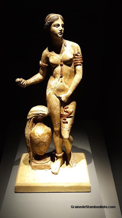 Aphrodite de Cnides, musée archéologique de Troie, Turquie