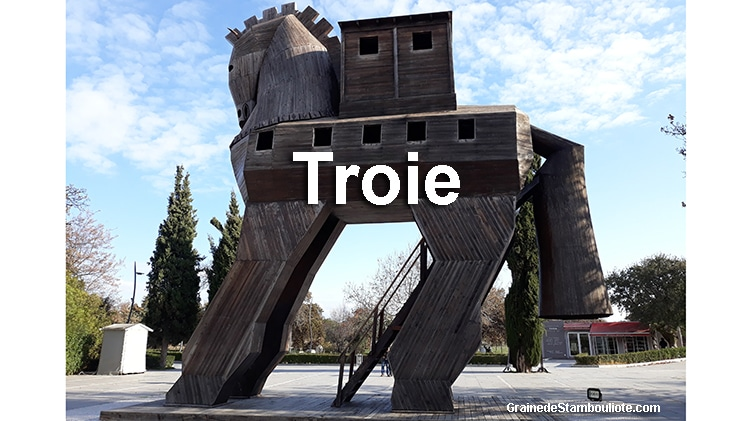 visite Troie, week-end Troie, site archéologique de Troie, Iliade et Odyssée d'Homère, mythologie grecque Paris et Hélène, Hector et Achille