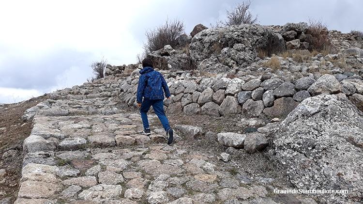 citadelle Büyükkale, Hattusa, capitale Hittite
