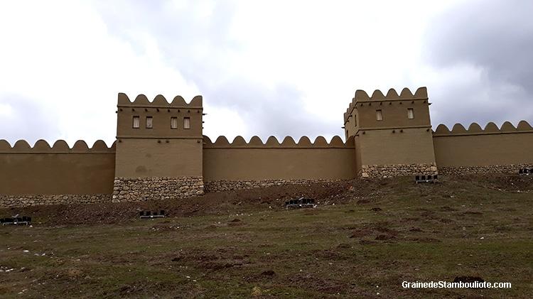 muraille reconstituée de Hattusa, capitale Hittite