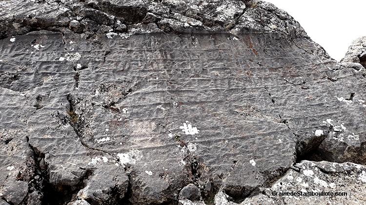 hiéroglyphes, nisantas, pierre gravée, Hattusa, capitale Hittite, suppiluliuma