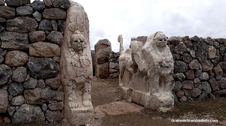 porte des sphinx, Hattusa, capitale Hittite, yerkapi