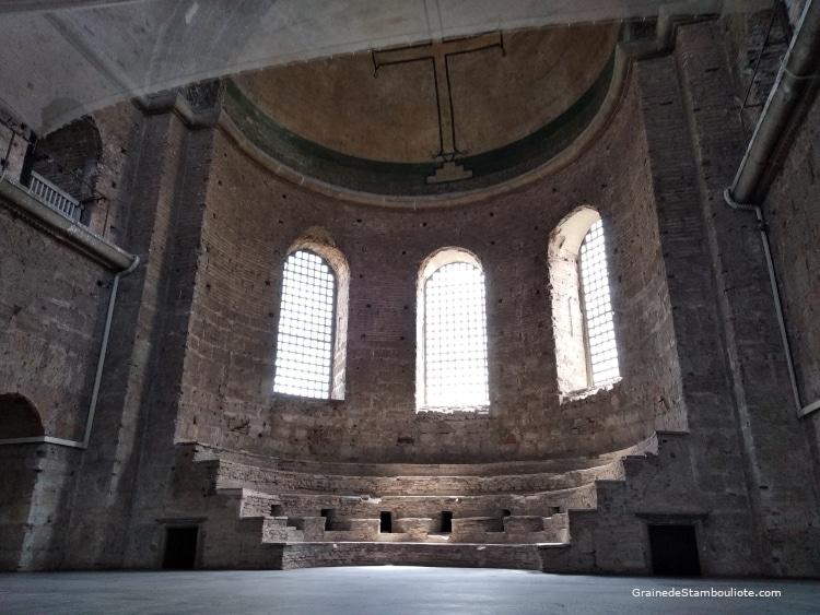 église byzantine Sainte-Irène, Istanbul, croix, iconoclaste