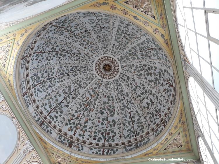 Palais Topkapi, Harem, Chambre de la sultane Valide, coupole, Istanbul, Ottoman