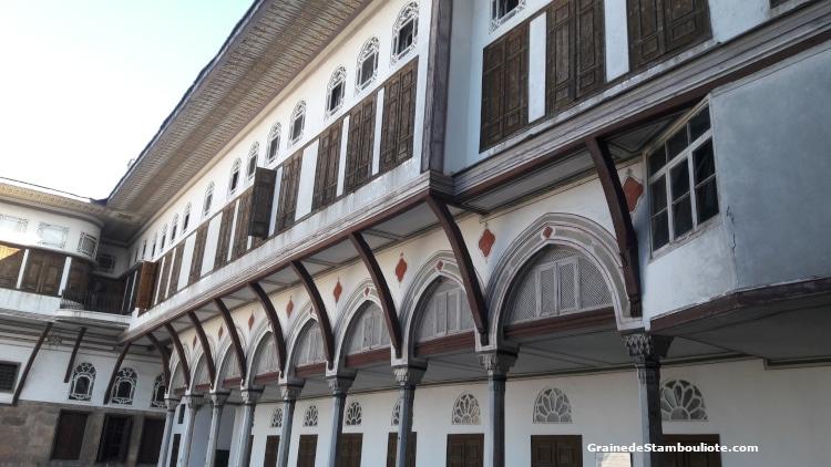 Palais Topkapi, Harem, Cour des favorites, dortoir, Istanbul, Ottoman