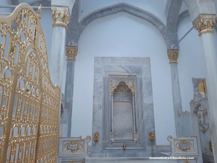 Palais Topkapi, Harem, Hammam du Sultan et de la sultane Valide, Istanbul, Ottoman